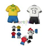 Usb 2.0 8gb Football Jersey Shape Pen Drive