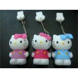 Usb 2.0 16gb Hello Kitty Shape Pen Drive
