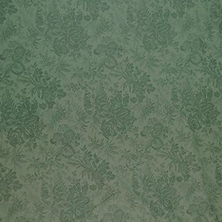 SheetWorld Extra Deep Fitted Portable / Mini Crib Sheet - Floral Forest Green - Made In USA