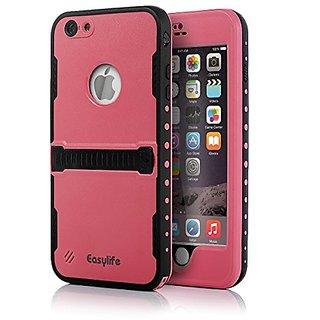 iPhone 6 Plus Waterproof Case,Easylife iPhone 6 Plus Protective Case IP 68 Waterproof Snowproof Shockproof Dirtproof Sta