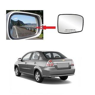 Carsaaz Left Side Sub-Mirror Plate for Chevrolet Aveo