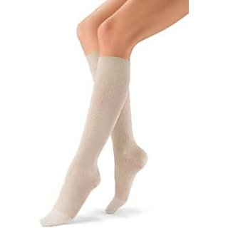 BSN Medical 120208 Jobst Sock, Knee High, Brocade, Closed Toe, 15-20 mmHG, X-Large, Black