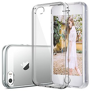 iPhone 5S Case, KKtick Ultra-thin Nature TPU Slim Flexible Soft Cover Clear Skin Soft Case for iPhone 5S/5/SE