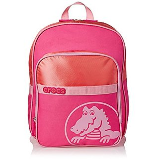 Crocs Kids Duke 2.0 Backpack (Neon Magenta/Carnation)