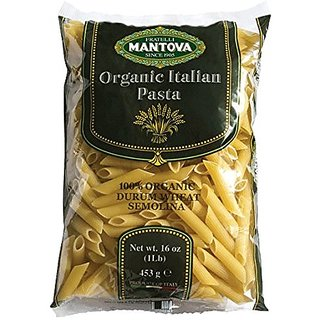 Mantova Italian Organic Pasta, 1-Pound Bags (Pack of 12)