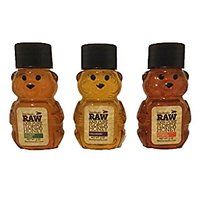 Bee-Haven Honey Farm RAW Local 100% Pure Unfiltered Florida Honey Sampler -Little Honey Bears-Featured USA TODAYs 10 BES