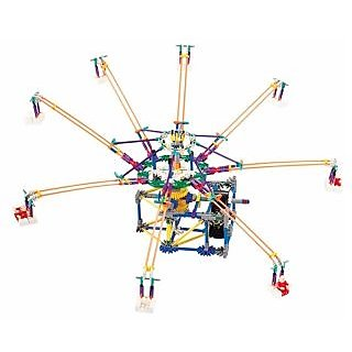 Amusement Park Octopus Swing Electronic Building Toy 512pcs Height 28 In. builds an unexceptionable amusement park by yo