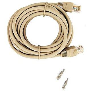 Tgomtech Ethernet RJ45 Network Cables CAT-5/6 25 ft
