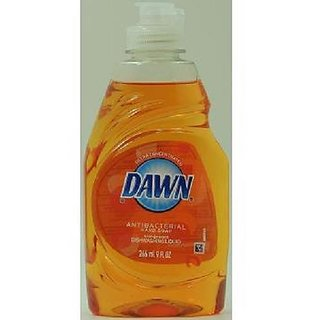 Dawn Antibacterial Hand Soap Dishwashing Liquid Orange Soap 9 Ounces (Pack of 4)