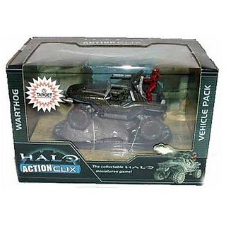 HALO 3 Exclusive Actionclix Warthog Vehicle Pack Figure