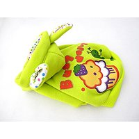 Cute Yummy Cake Dog Clothes Pet Lovely Cotton Warm Coat Costume Sweater (M, Yellow)