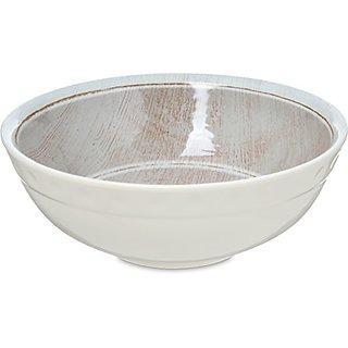 Carlisle 6400570 Grove Melamine Small Bowl, 17 oz., Adobe (Pack of 12)