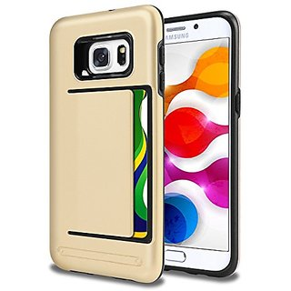Samsung Galaxy S6 Edge Plus Case Wallet Case ID CARD HOLDER Impact Resistant Protective Wallet Dual Layer Cover Shockpro