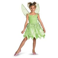 Disguise Girls Disney Fairies Tink And The Fairy Rescue Classic Costume, One Color, Small/4-6X