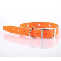 TPU Collar,Paperflower TPU Classic Dog Cat Pet Collar Strong Safety Comfort Waterproof TPU Dog Collars With 7 Colors (S,