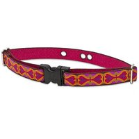 Lupine 3/4-Inch Heart 2 Heart 12 To 17-Inch Containment Collar Strap For Small To Medium Dogs