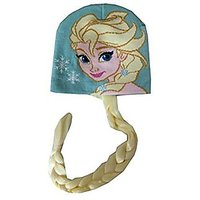 Disney Frozen Elsa Knit Hat With Braid