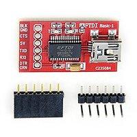 XLX 3.3V 5.5V FT232RL FTDI Usb To TTL Serial Adapter Module For Arduino Mini Port