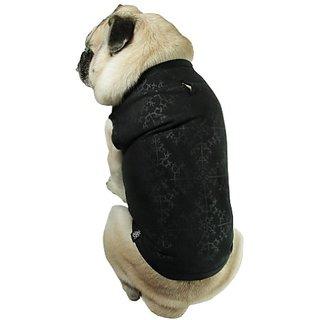Sophisticated Pup Waterproof Action Dog Vest, Medium, Black