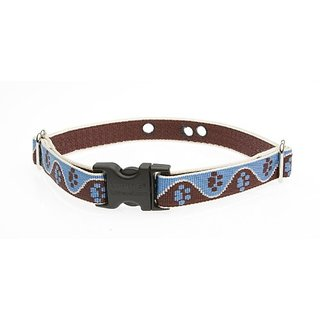 Lupine 3/4-Inch Muddy Paws 12-17-Inch Containment Collar Strap for Small to Medium Dogs