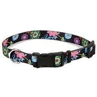 Coastal Pet 06402 A WDF18 Adjustable Collar, 3/8-Inch, Wildflower