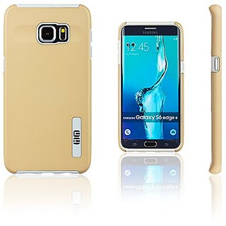 Lilware Smooth Armor Hard Plastic Case for Samsung Galaxy S6 edge+ Plus SM-G928A. Rugged Dual Layer Protective Cover (Do