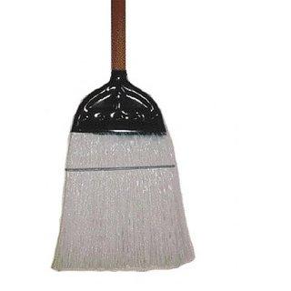 HAMBURG/NEXSTEP COMM PROD 6118-6 Industrial Fiber Polycorn Broom, 10 1/4