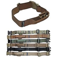 HEAVY DUTY Tactical Military Army Dog Collars Handle Width 1.5in Plastic Buckle Medium Large M, L, XL, XXL (XXL: NECK 20