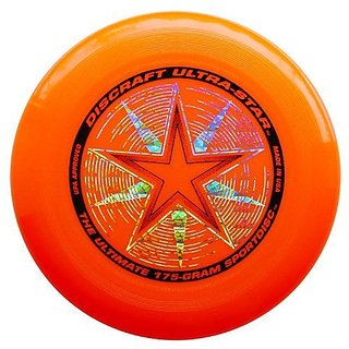 Discraft 175 gram Super Color Ultra-Star Disc. ORANGE