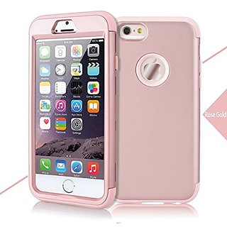 iPhone 6S Plus 6 Plus Case, WeLoveCase Defender Series Hybrid High Impact Heavy Duty Hard PC Outer Shell with Inner Soft