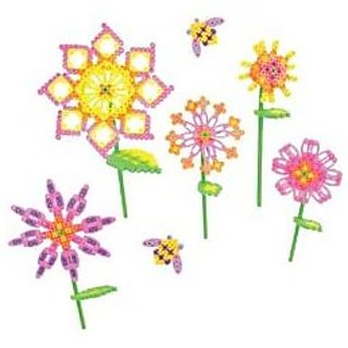 Bulk Buy: Perler Beads (2-Pack) Shapes Fun Fusion Fuse Bead Activity Kit Blooming Flowers 80-56001
