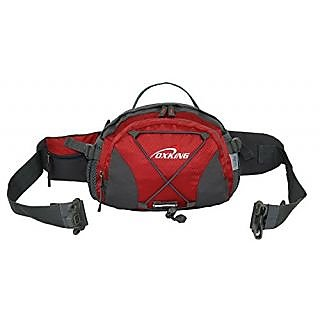 Oxking Outdoor Sports Waist Pack Running Water Bottle Pockets Waterproof Riding Cycling Leisure Waist Pouch Rucksack 8L