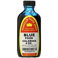 Marshalls Creek Spices Food Coloring, Blue, 4 Ounce