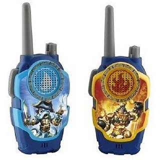 Skylanders Wash Buckler & Blast Zone FRS 2-Way Radios Playset