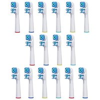 16 Oral-b Dual Clean Replacement Toothbrush Heads Oral-b Compatible Electric Replacement Toothbrush Heads (4 Packs)