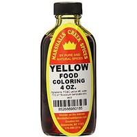 Marshalls Creek Spices Food Coloring, Yellow, 4 Ounce