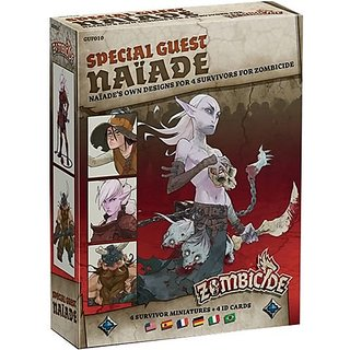 Zombicide: Black Plague Special Guest Naiade Board Game