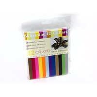 Solstice Puppy ID Collars, Whelp Velcro Cotton (12 Pack). Reuseable. Great For Kittens And Other Small Animals