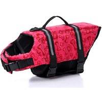 Lovely Baby Cute Pets Lifejackets Dogs Safety Clothing YC-D-LJ4001-PE-L