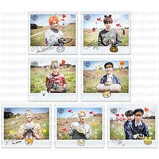 BTS bangtan boys fancafe 3rd army room emoticon photo set