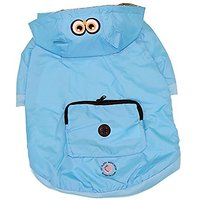 Protect Me Alert Series Reversible Spring Pet Jacket Set With Sun Alert Patch, Medium, Turquoise