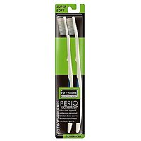 Dr. Collins Perio Toothbrush 2-Brush Value Pack ~ 2 Pack (4 Brushes Total)
