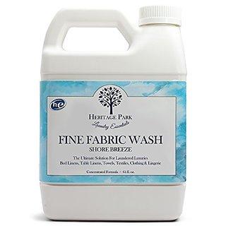 Heritage Park HE Laundry Detergent, Dye Free, By Heritage Park Laundry Essentials (64 Oz. Bottle, Shore Breeze)