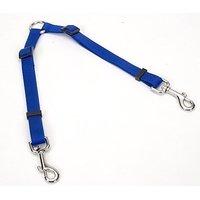 Coastal Pet Products DCP669BLU Nylon Adjustable 2-Dog Coupler, Blue