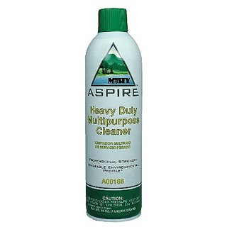 Misty A166-20 19 Oz. Aspire Heavy Duty Multipurpose Cleaner in Aerosol Can (Case of 12)