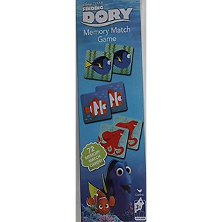 Finding Dory Memory Match Game with 72 Memory Match Cards
