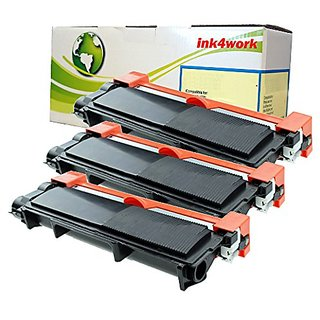 INK4WORK Compatible Toner Cartridge Replacement for Brother TN660 ( Black , 3-Pack )