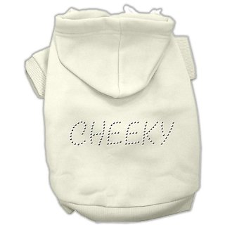 Mirage Pet Products 20-Inch Cheeky Hoodies, 3X-Large, Cream