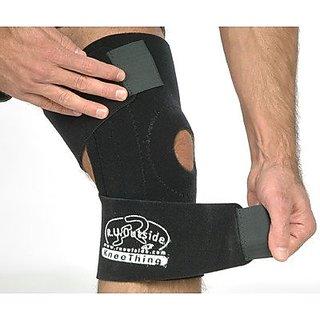 R.U.Outside Kneething - Knee Support, Medium/100 - 220-Pound, Black