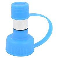 Uxcell Portable Pet Drinking Water Bottle Head Feeder, Blue